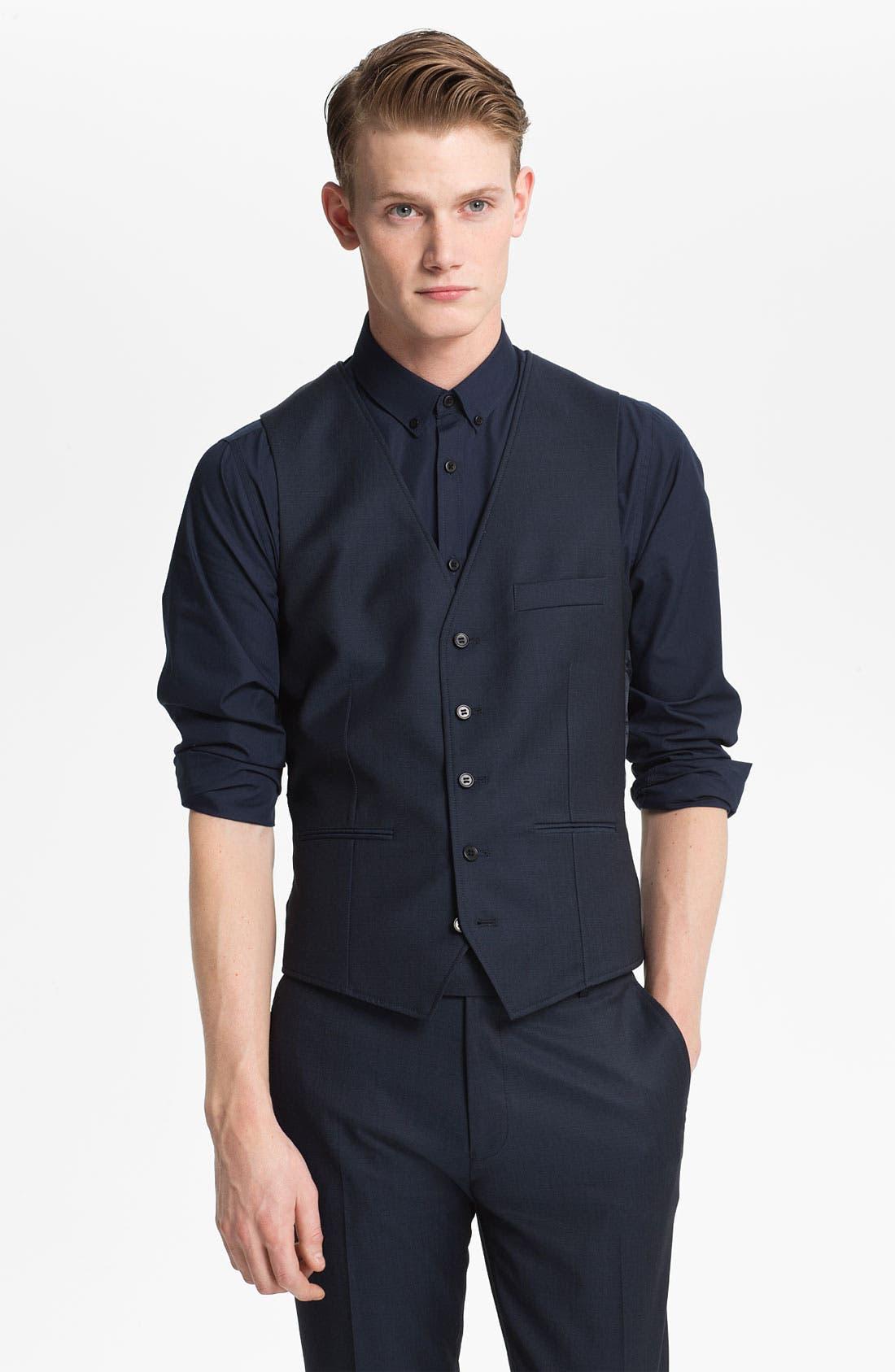 Main Image - Topman Skinny Fit Vest