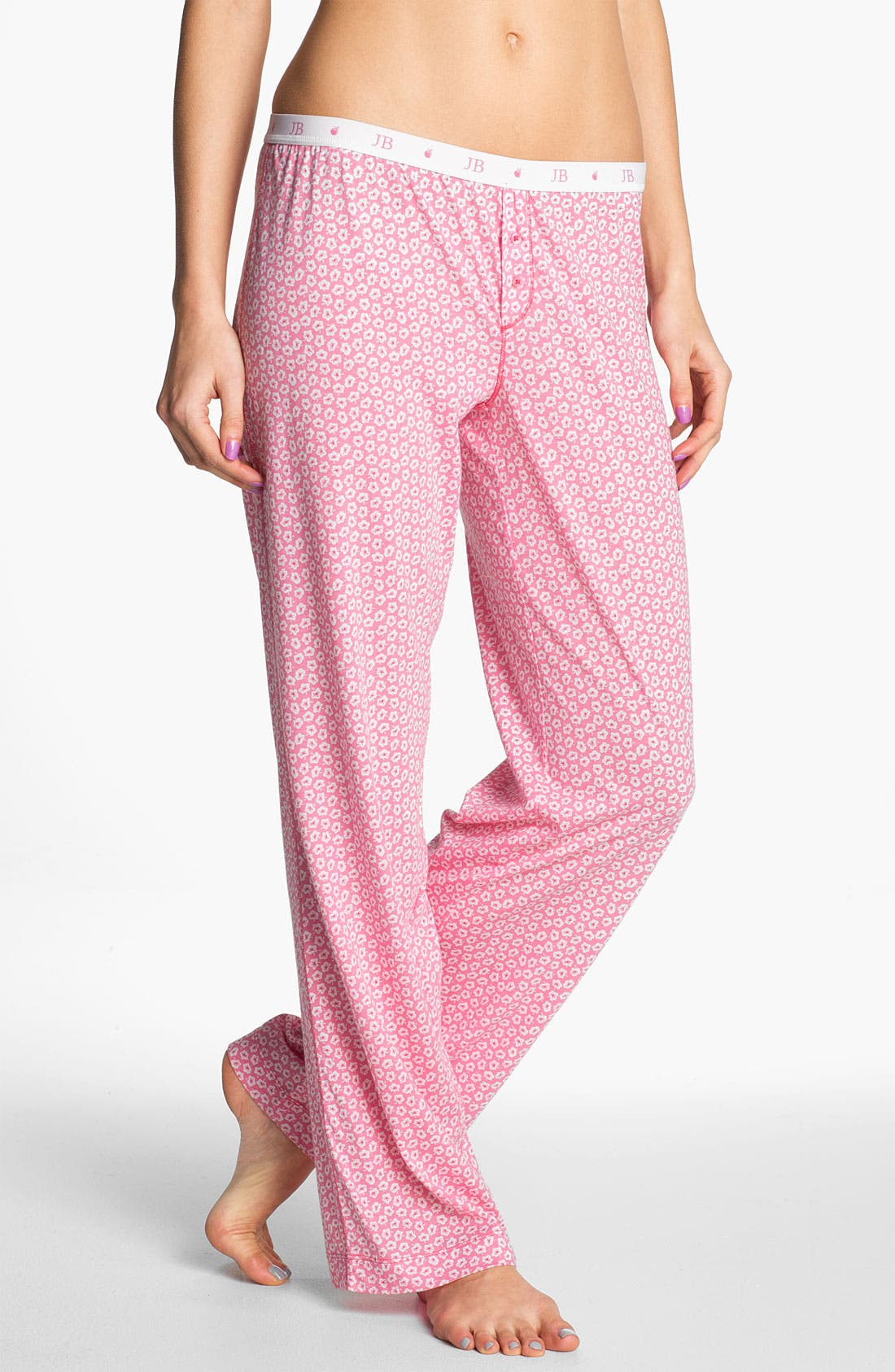 Alternate Image 1 Selected - Jane & Bleecker New York 'Jane B' Knit Lounge Pants