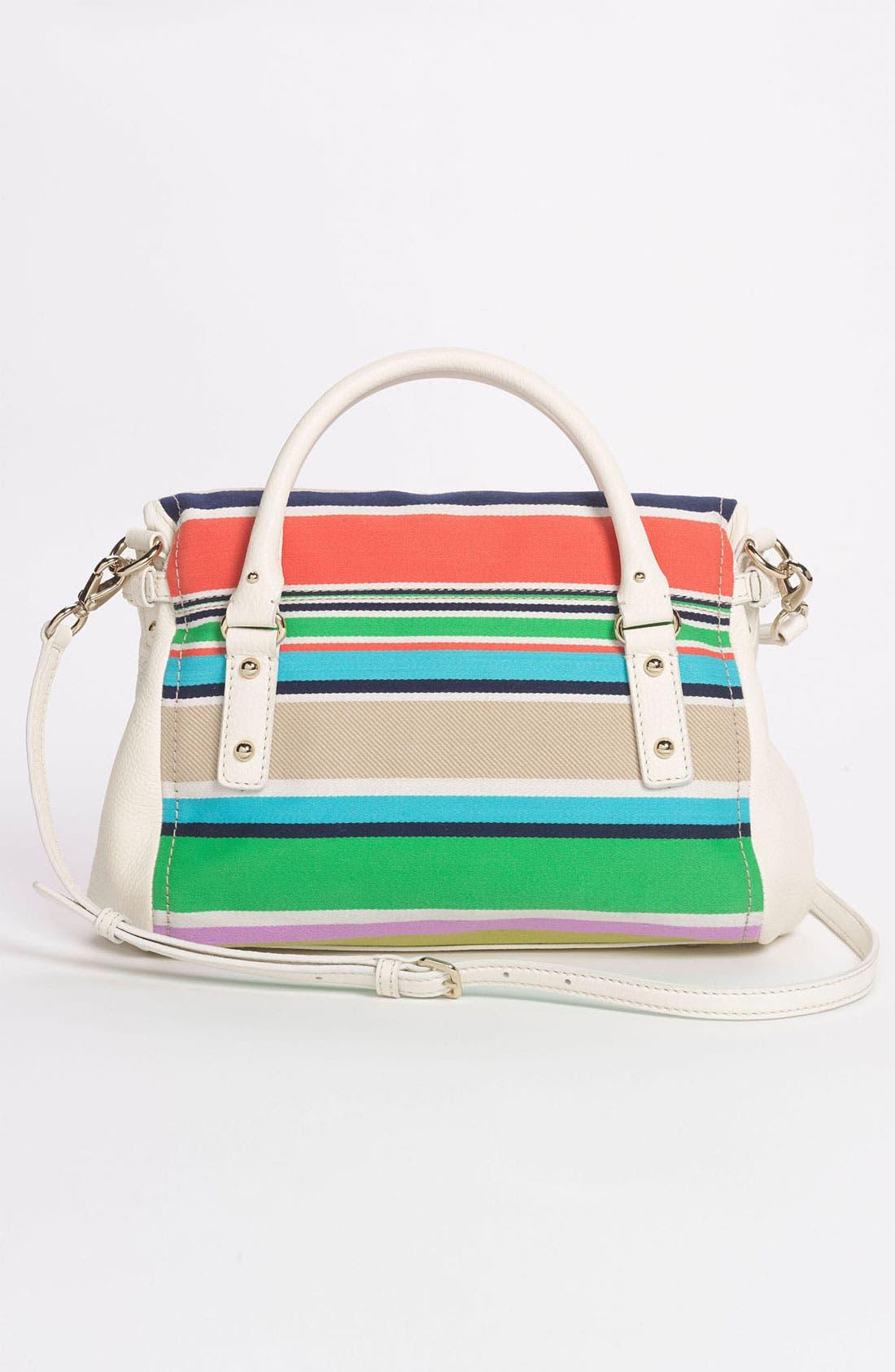 Alternate Image 4  - kate spade new york 'cobble hill stripe - small leslie' satchel