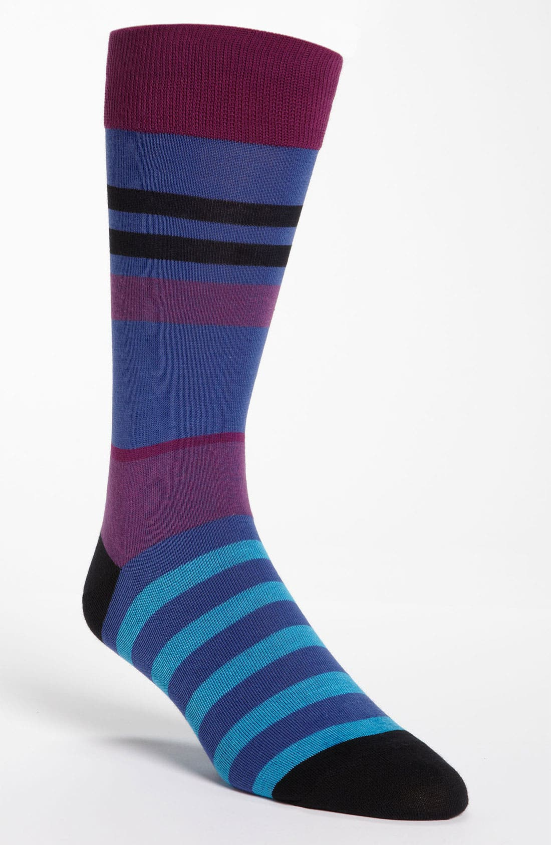 Main Image - Cole Haan Stripe Socks (3 for $27)