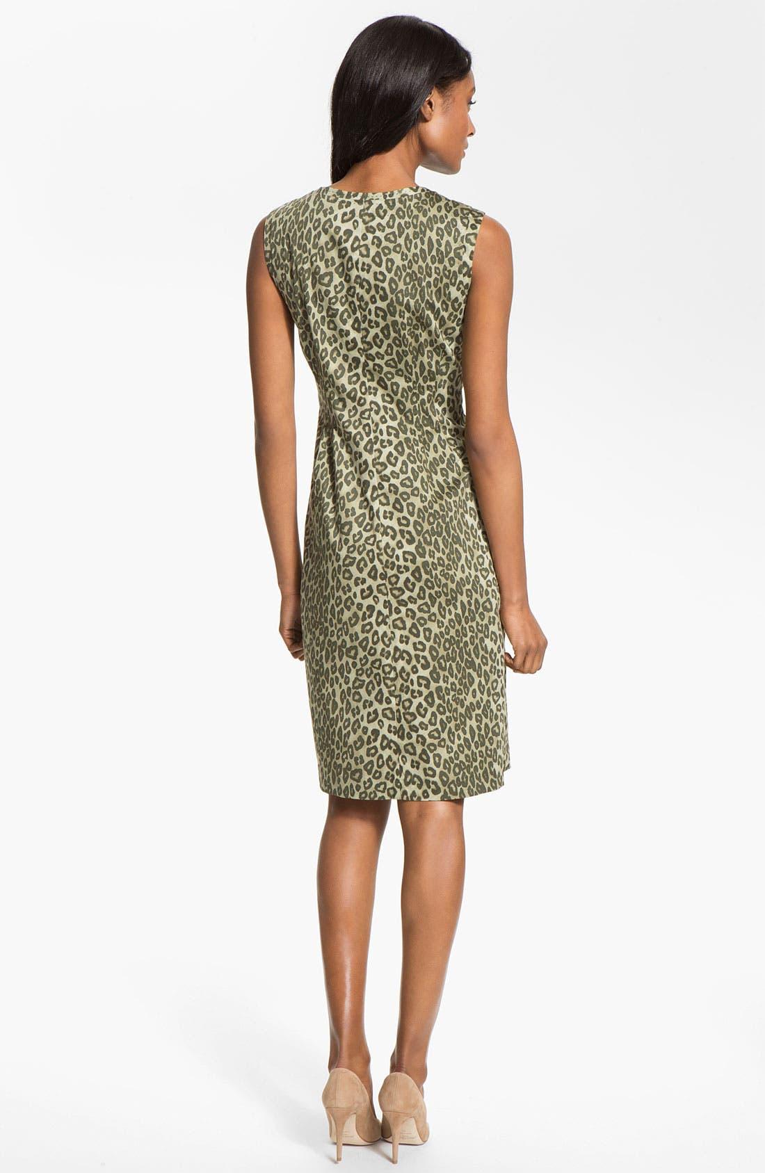 Alternate Image 2  - Lafayette 148 New York 'Misti - Senegal Cheetah' Dress