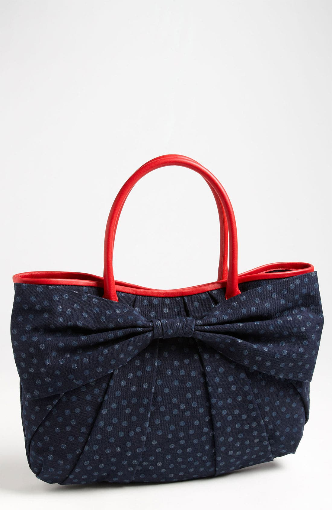 Alternate Image 1 Selected - RED Valentino 'Bow' Denim Tote