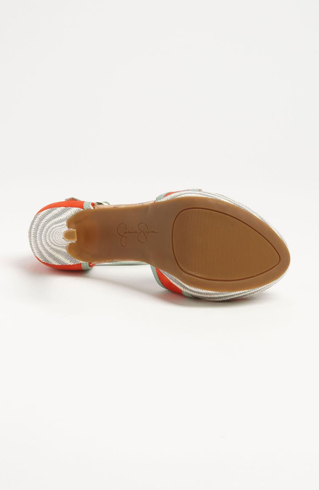 Alternate Image 4  - Jessica Simpson 'Britt' Sandal