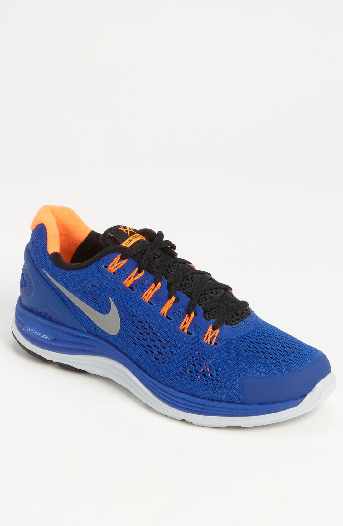 Alternate Image 1 Selected - Nike 'LunarGlide+ 4' Running Shoe (Men)