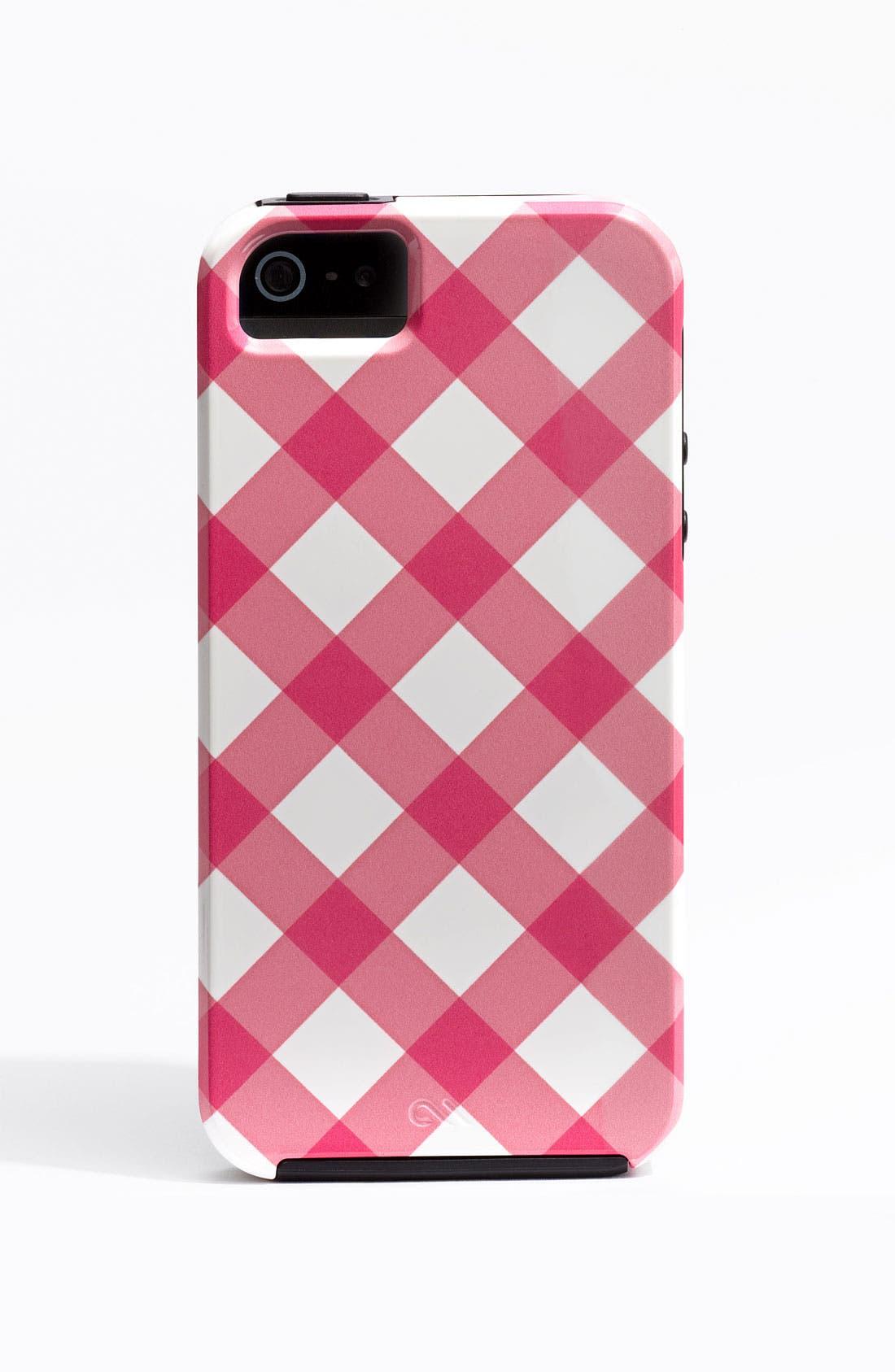 Alternate Image 2  - Case-Mate® Gingham iPhone 5 Case (Nordstrom Exclusive)