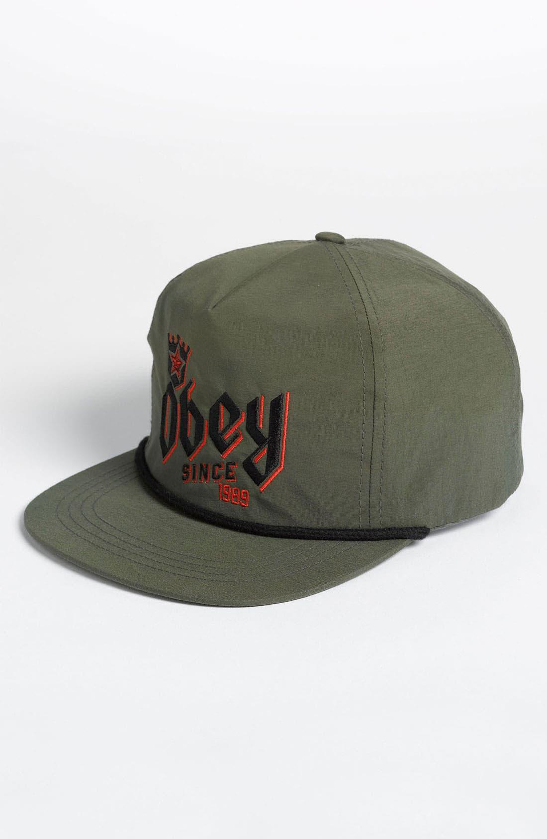 Alternate Image 1 Selected - Obey 'Beer King' Snapback Cap