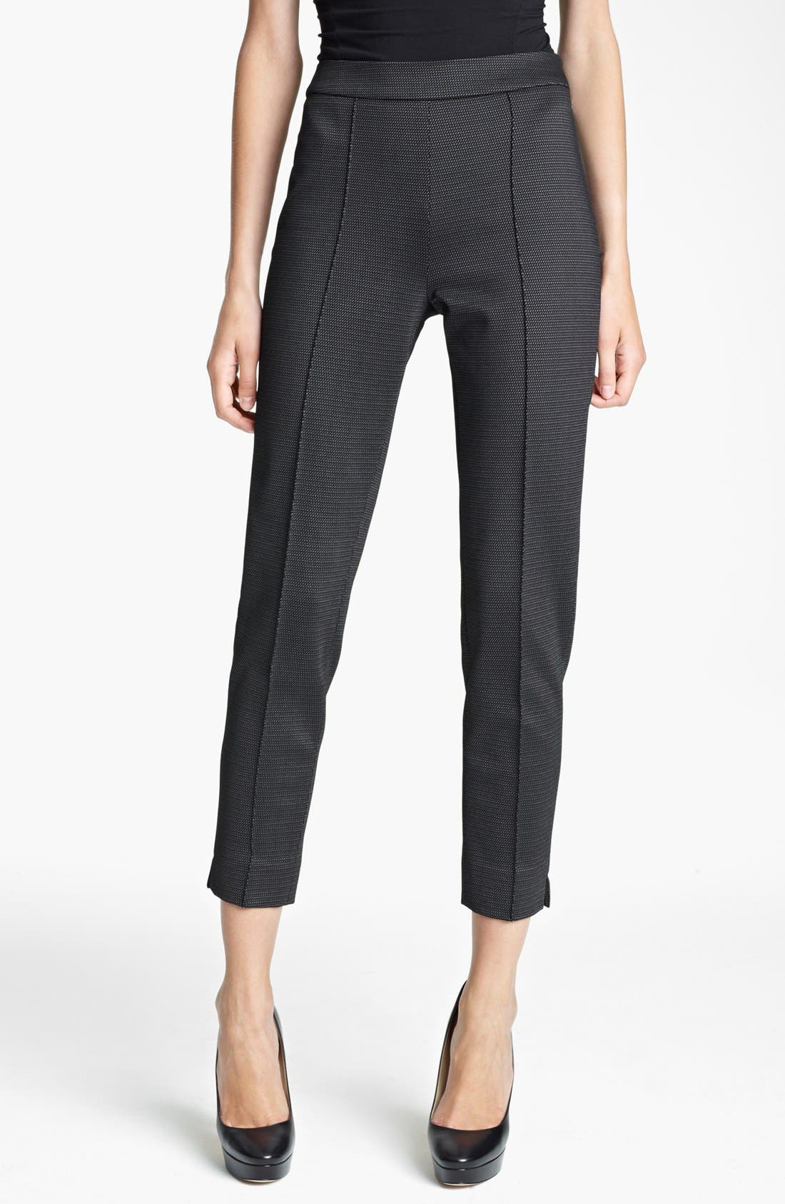 Alternate Image 1 Selected - Max Mara 'Valdorf' Print Jersey Pants