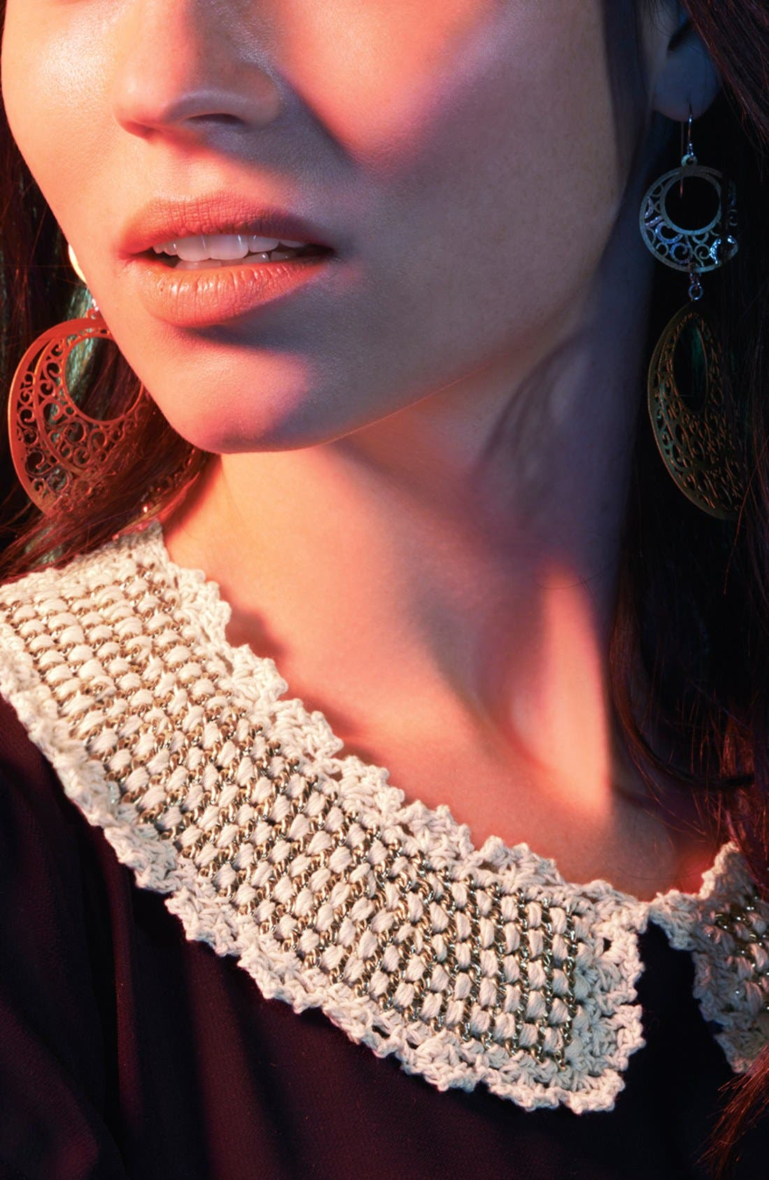 Alternate Image 2  - Tasha Crochet Collar
