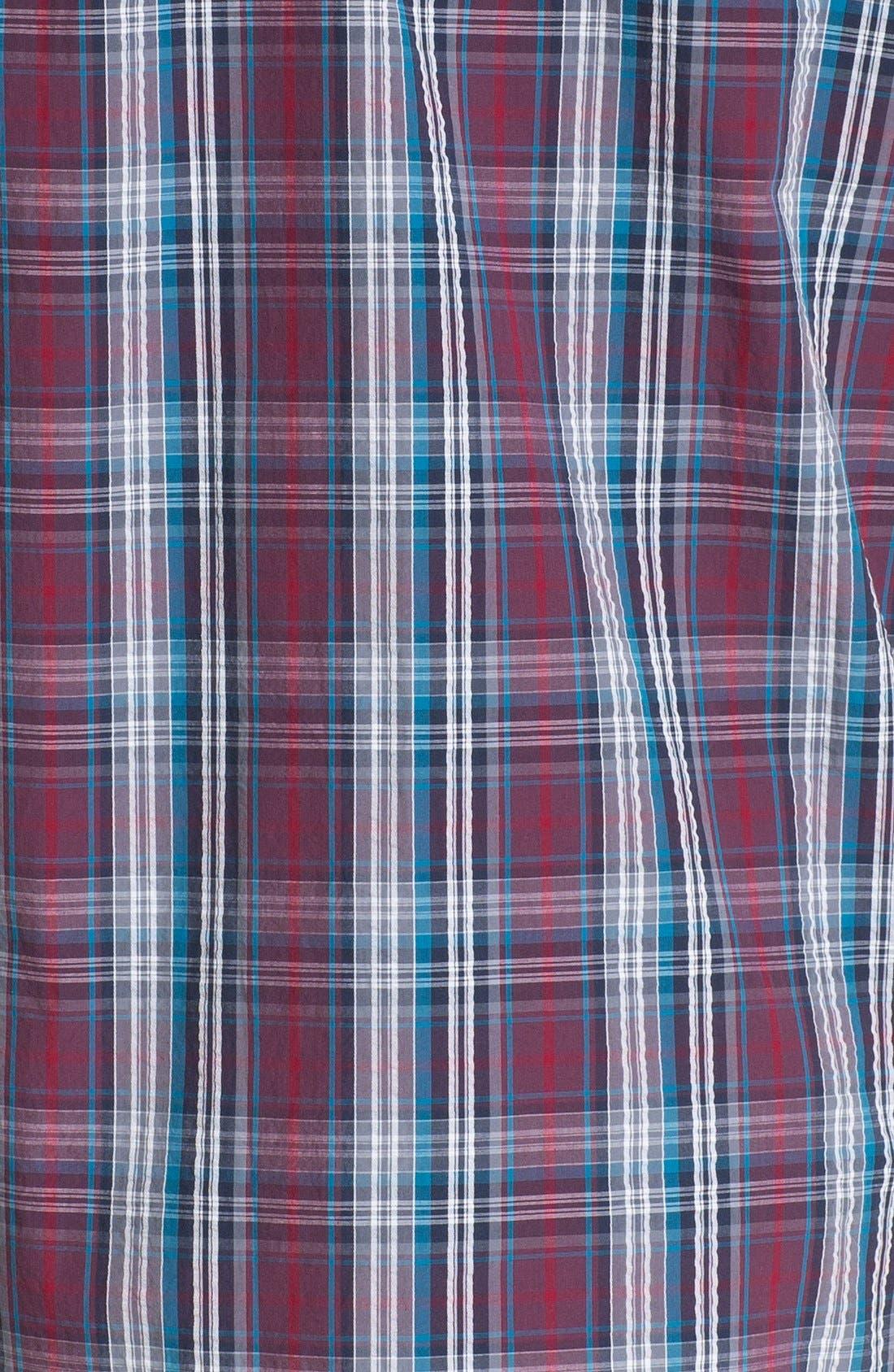 Alternate Image 3  - Nordstrom Regular Fit Seersucker Sport Shirt