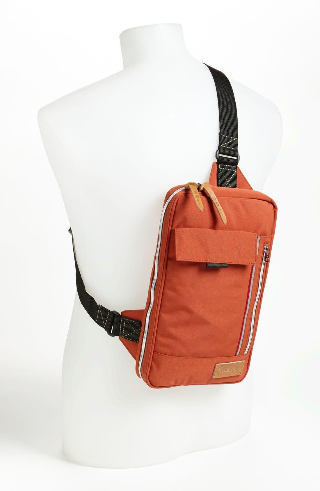 Alternate Image 4  - DIESEL® 'Get On Track' Belted Messenger Bag