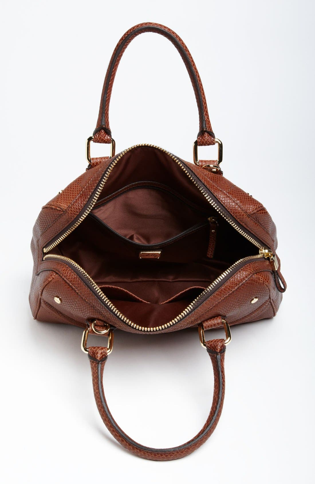 Alternate Image 3  - Milly 'Zoey' Snake Embossed Leather Satchel