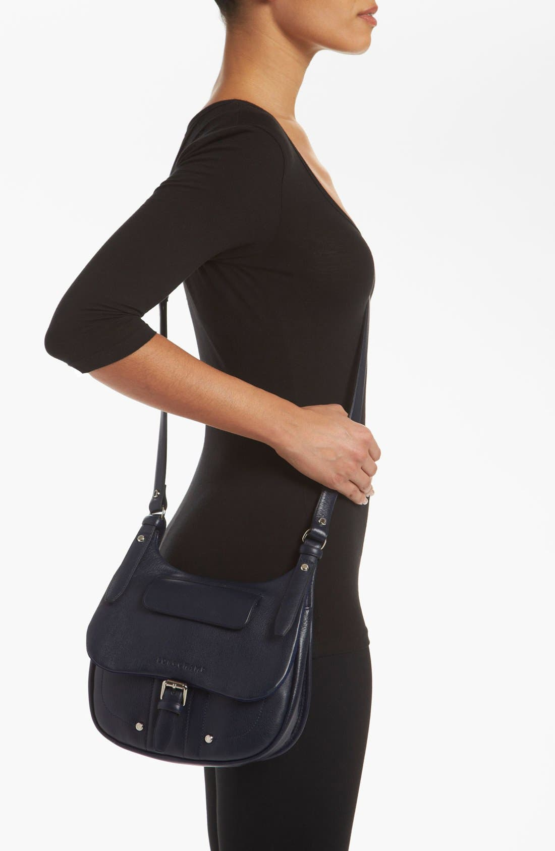 Alternate Image 2  - Longchamp 'Balzane - Small' Crossbody Bag