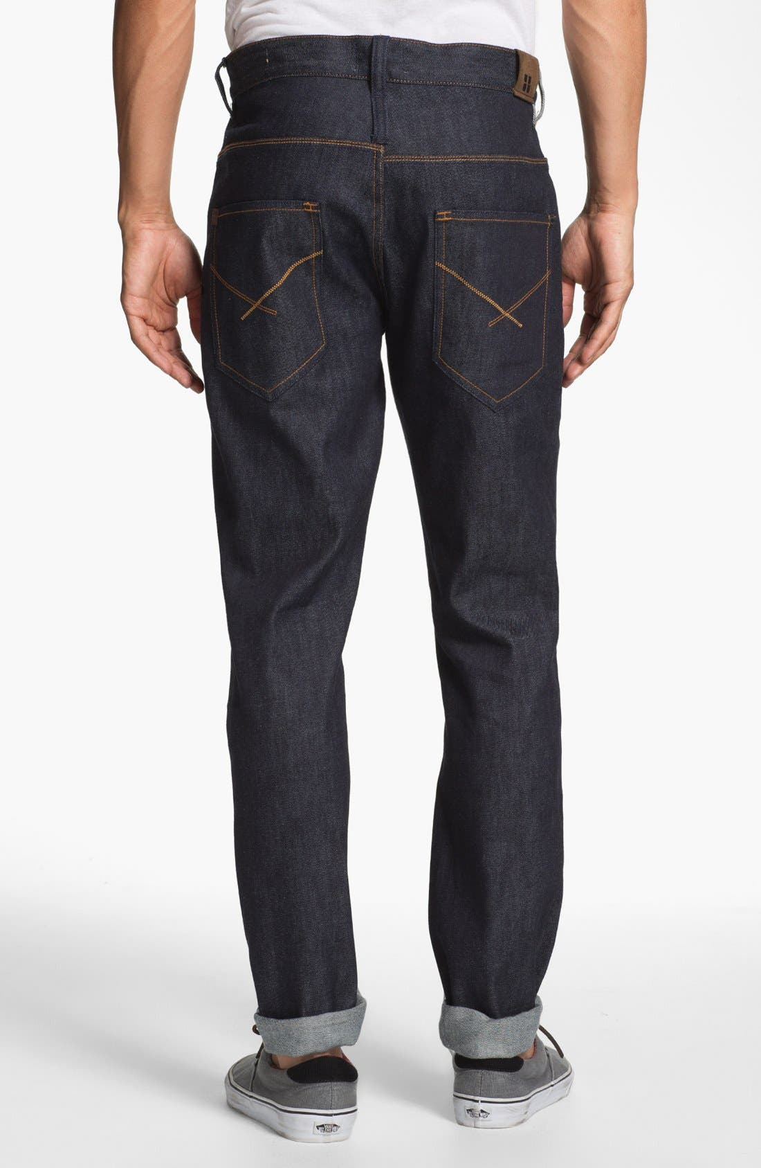 Alternate Image 1 Selected - Insight 'Loose Joints' Slim Leg Jeans (Indigo Raw)
