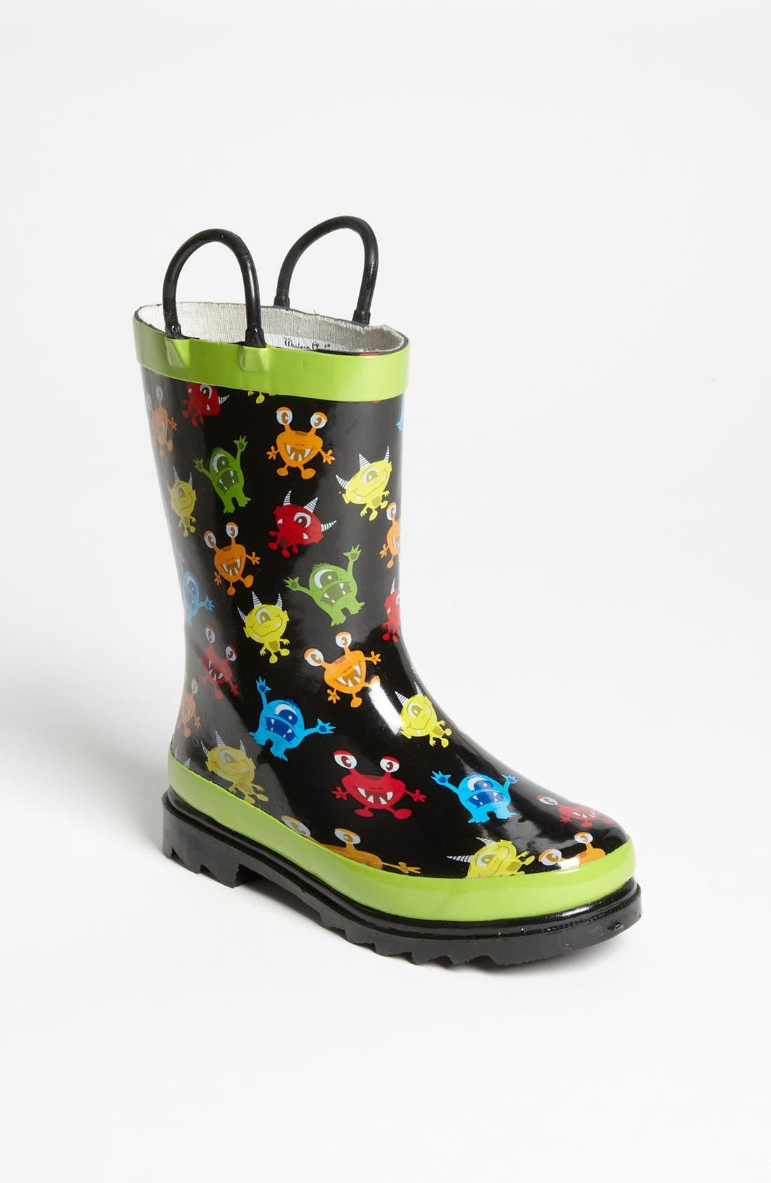 Alternate Image 1 Selected - Western Chief 'Monster Party' Rain Boot (Walker, Toddler & Little Kid)