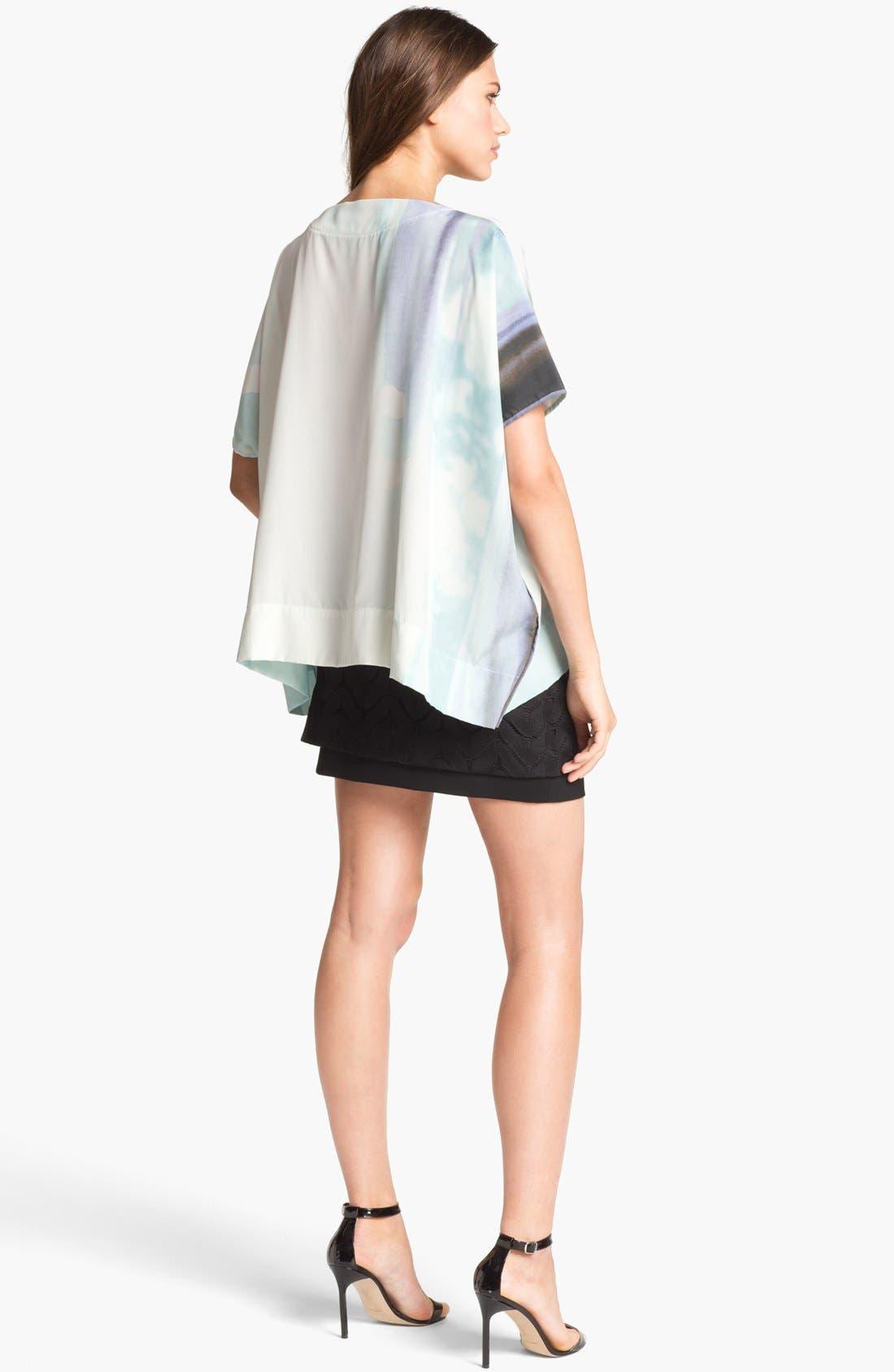Alternate Image 2  - Diane von Furstenberg 'New Hankey' Silk Top