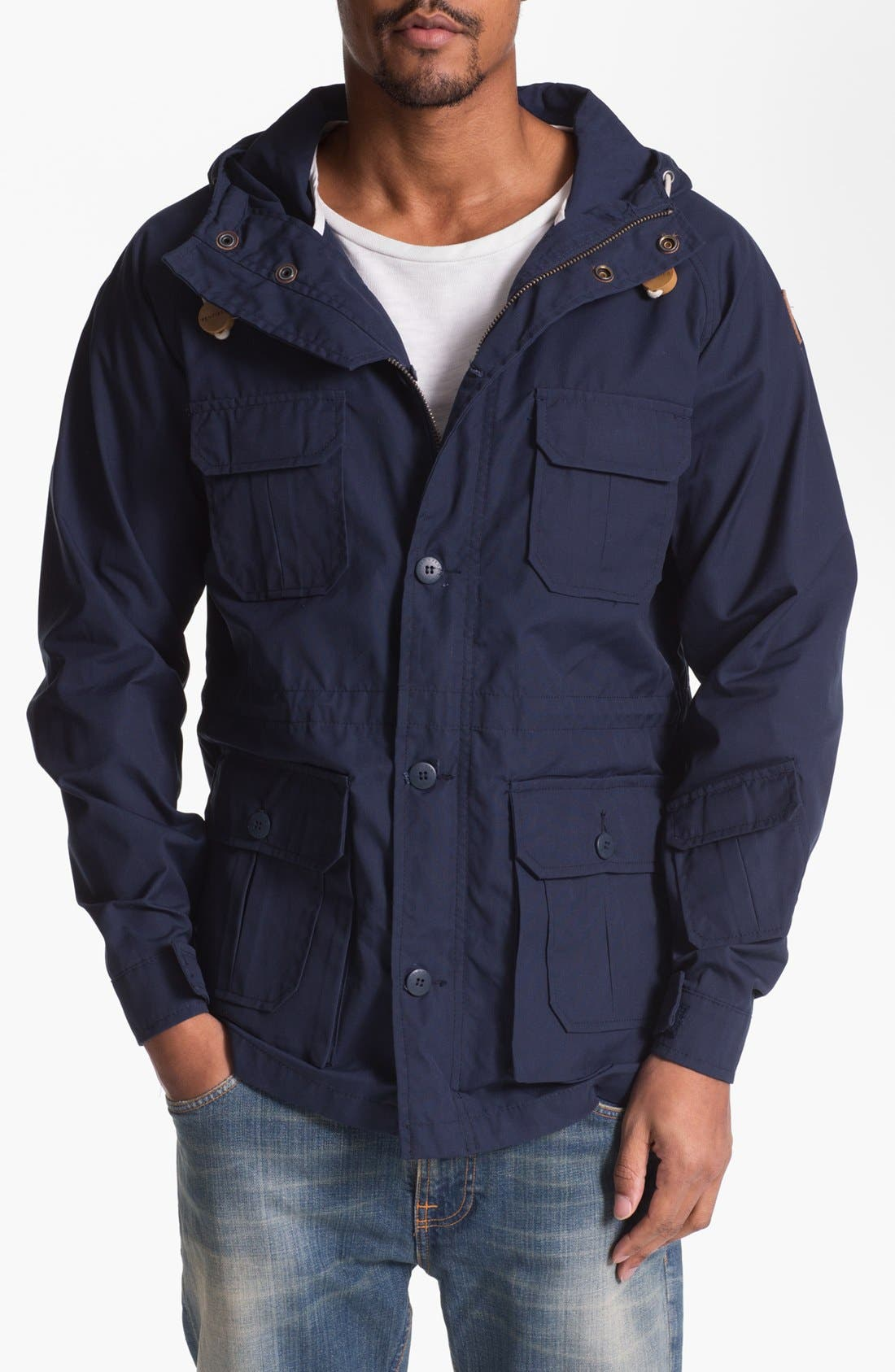 Alternate Image 1 Selected - Penfield 'Vassan' Wax Coated Parka
