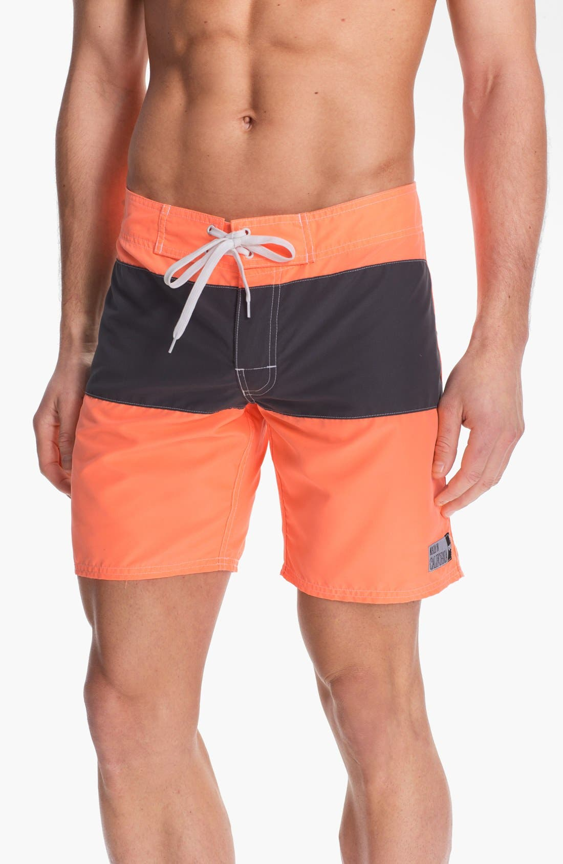 Alternate Image 1 Selected - ambsn 'Pause' Board Shorts