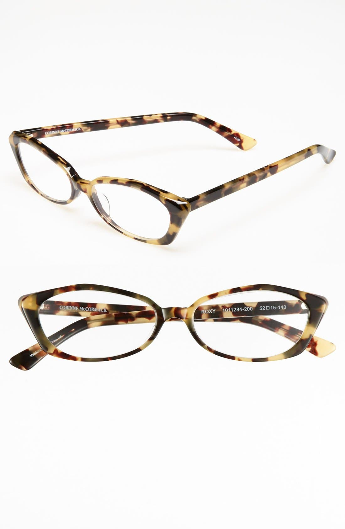 Main Image - Corinne McCormack 'Roxy Camo Art Deco' 52mm Reading Glasses