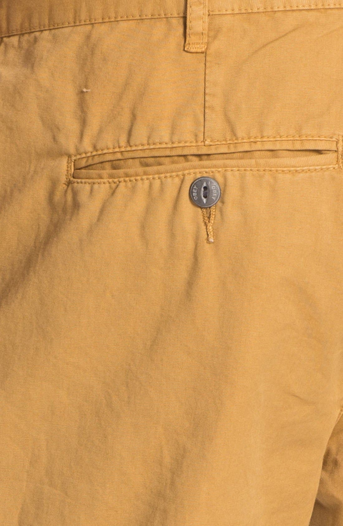 Alternate Image 3  - Obey 'Classique' Shorts
