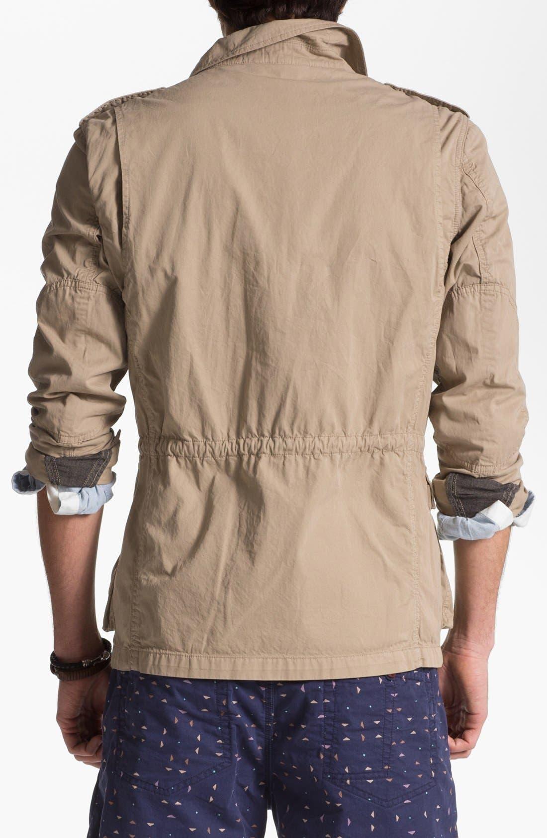 Alternate Image 2  - Façonnable Tailored Denim Field Jacket