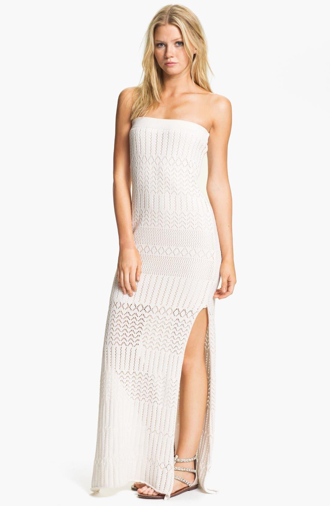 Main Image - Young, Fabulous & Broke 'Lou' Strapless Maxi Dress