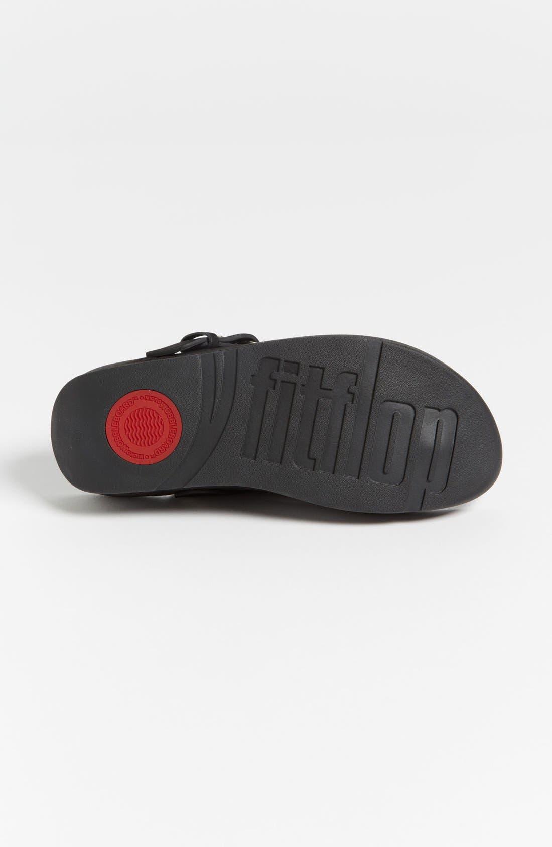 Alternate Image 4  - FitFlop 'Via™' Nubuck Sandal