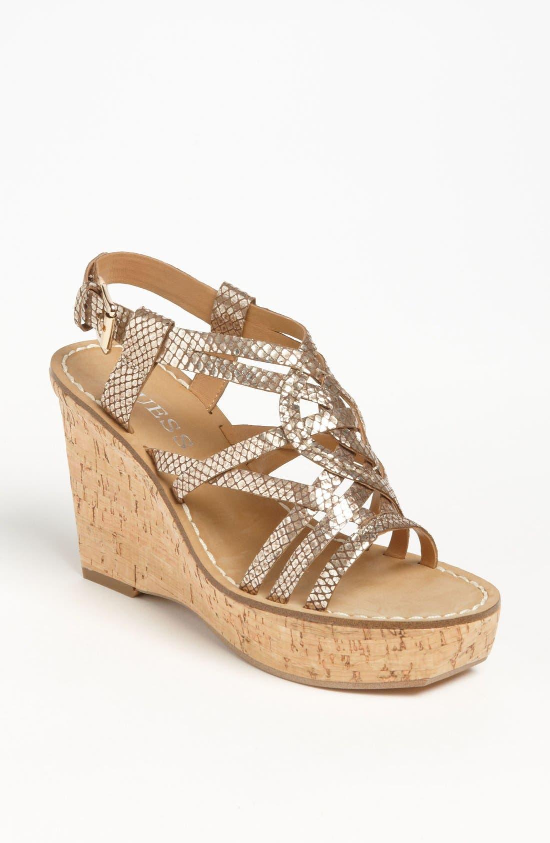 Alternate Image 1 Selected - GUESS 'Yarkena' Sandal