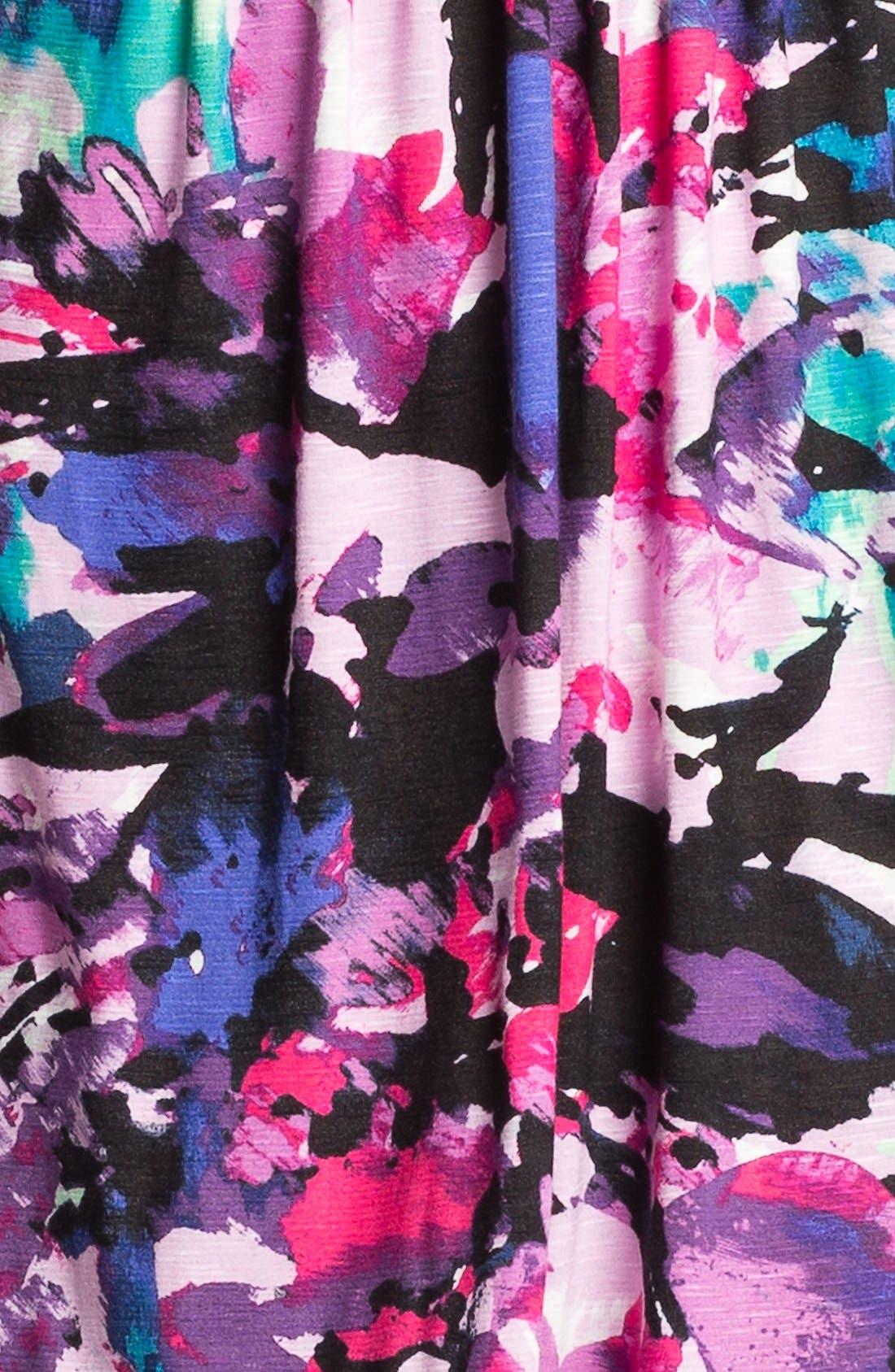 Alternate Image 3  - Nic + Zoe Sleeveless Faux Wrap Print Dress