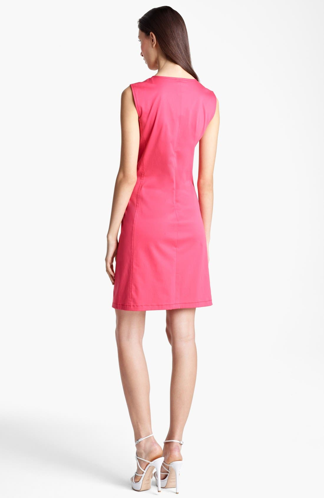 Alternate Image 2  - Armani Collezioni Zip Front Dress