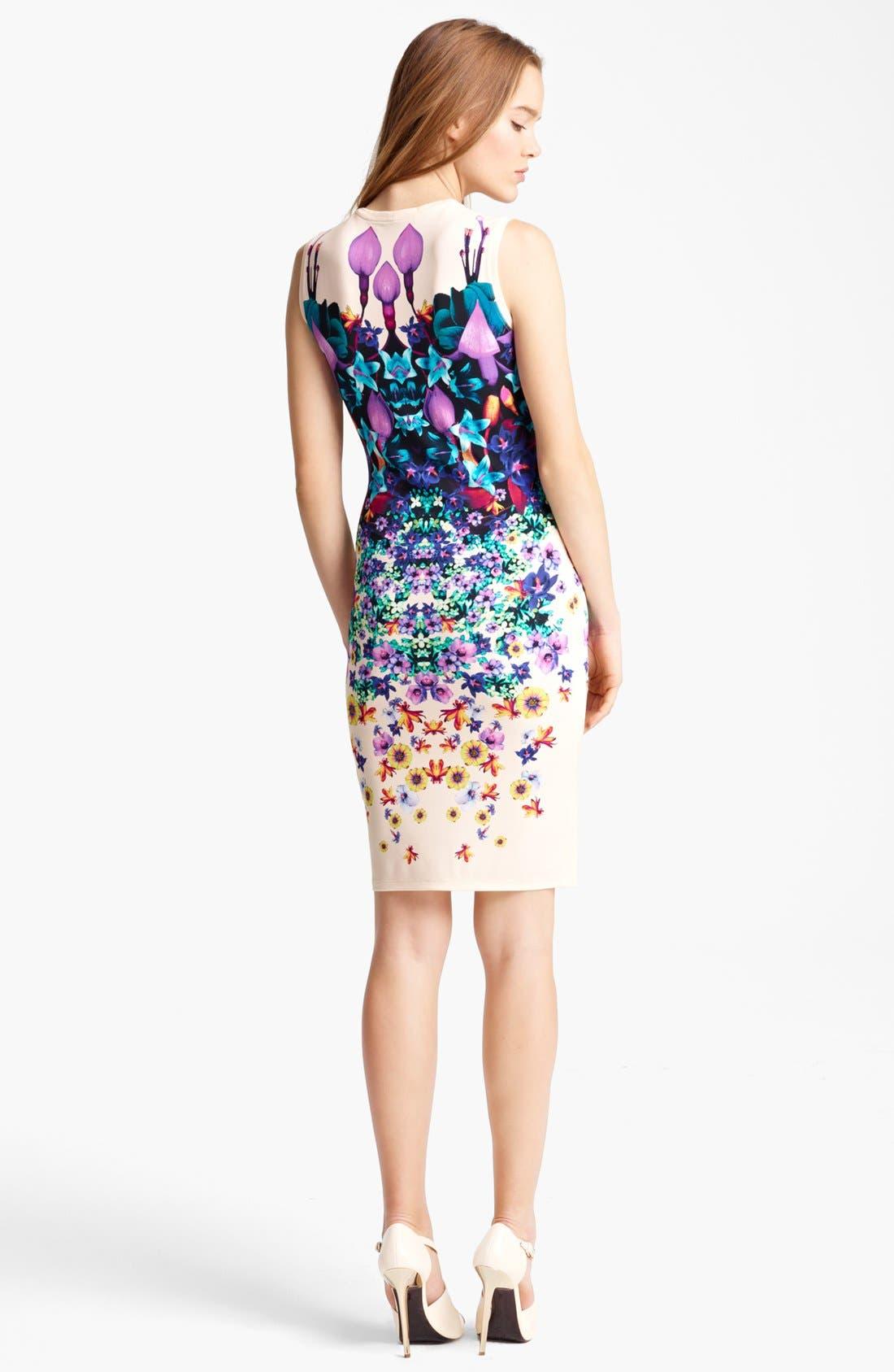 Alternate Image 2  - Roberto Cavalli Bloom Print Jersey Dress