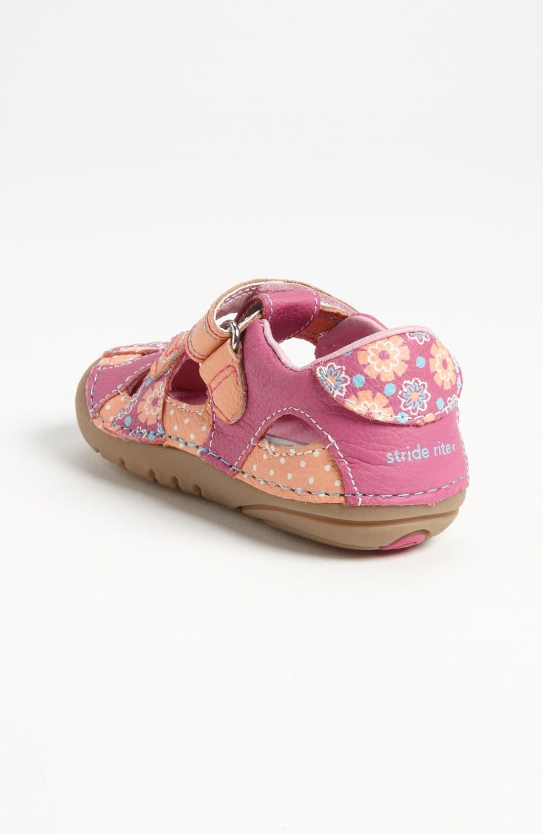 Alternate Image 2  - Stride Rite 'Poppy' Sandal (Baby & Walker)