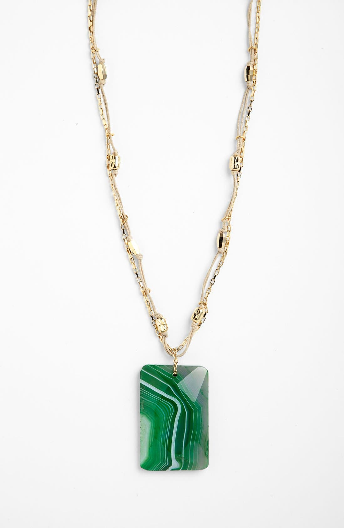 Alternate Image 1 Selected - Nordstrom 'Grotto' Stone Pendant Necklace