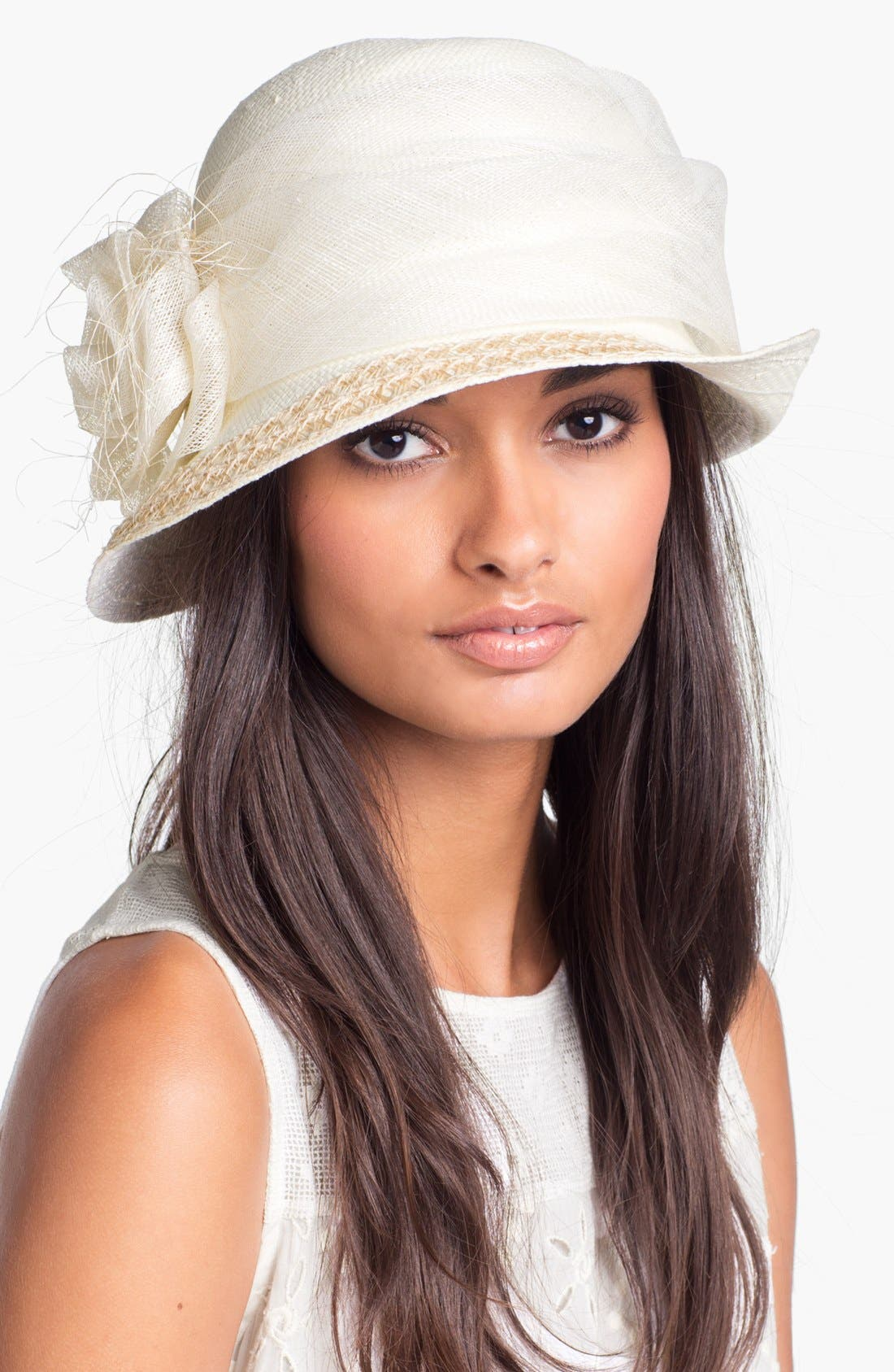 Alternate Image 1 Selected - Nordstrom Woven Straw Cloche