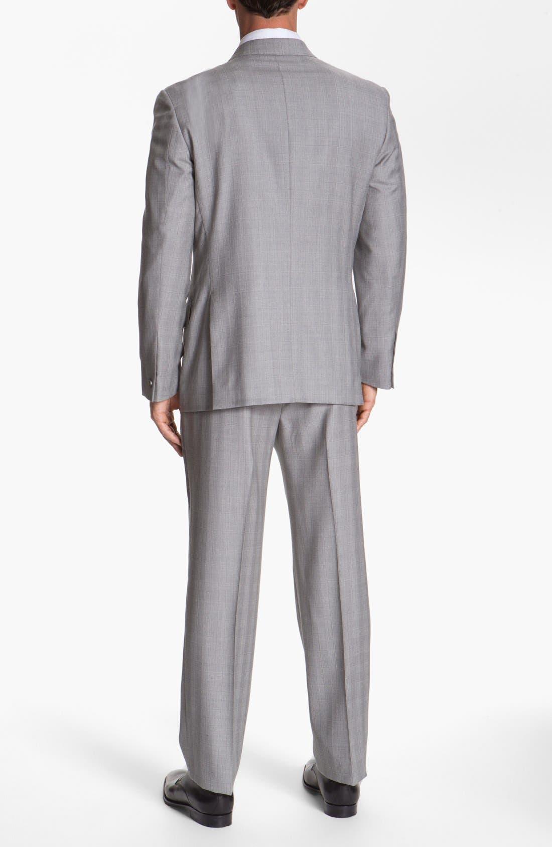 Alternate Image 3  - Joseph Abboud 'Platinum' Double Breasted Suit