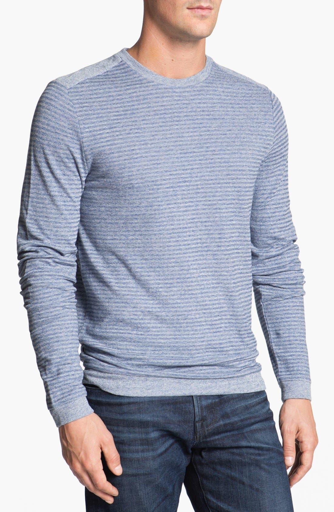 Main Image - BOSS HUGO BOSS 'Abruzzi' Slim Fit Long Sleeve T-Shirt