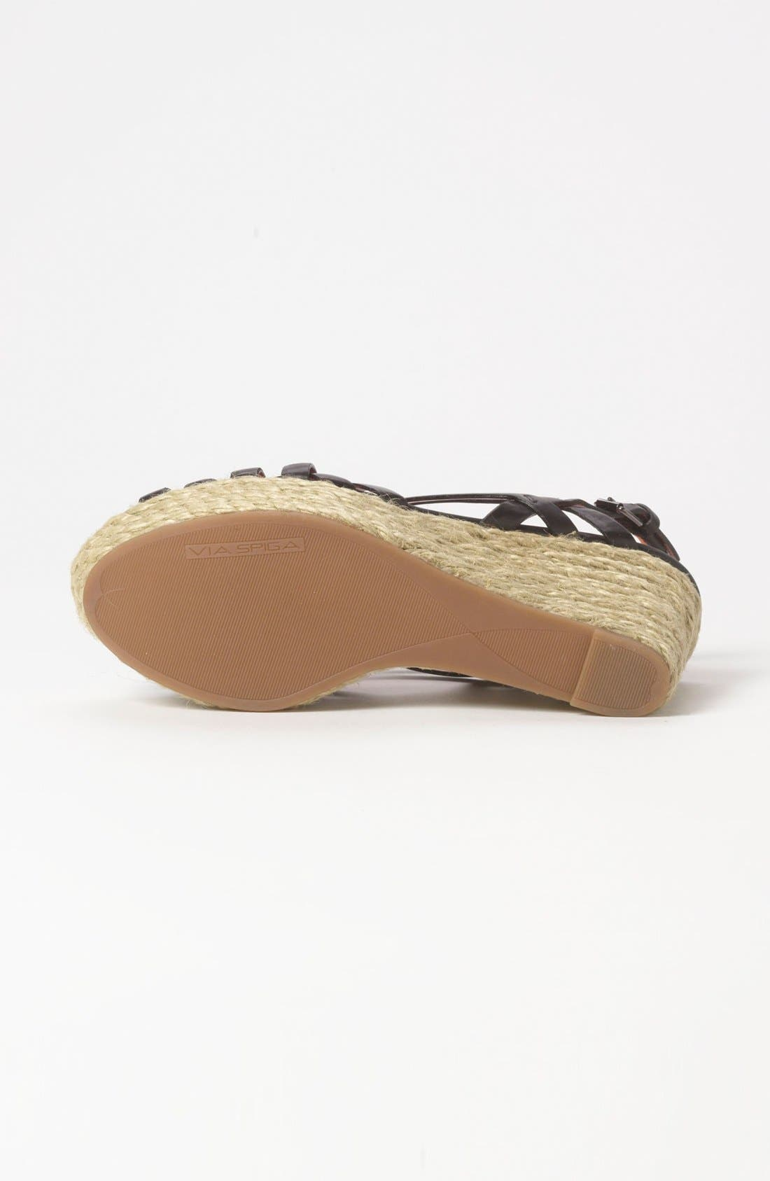 Alternate Image 4  - Via Spiga 'Mabel' Wedge Sandal (Special Purchase)