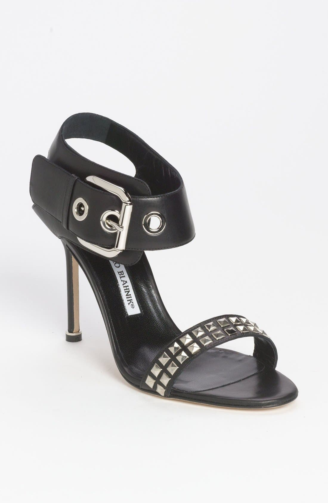 Alternate Image 1 Selected - Manolo Blahnik 'Koyro' Sandal