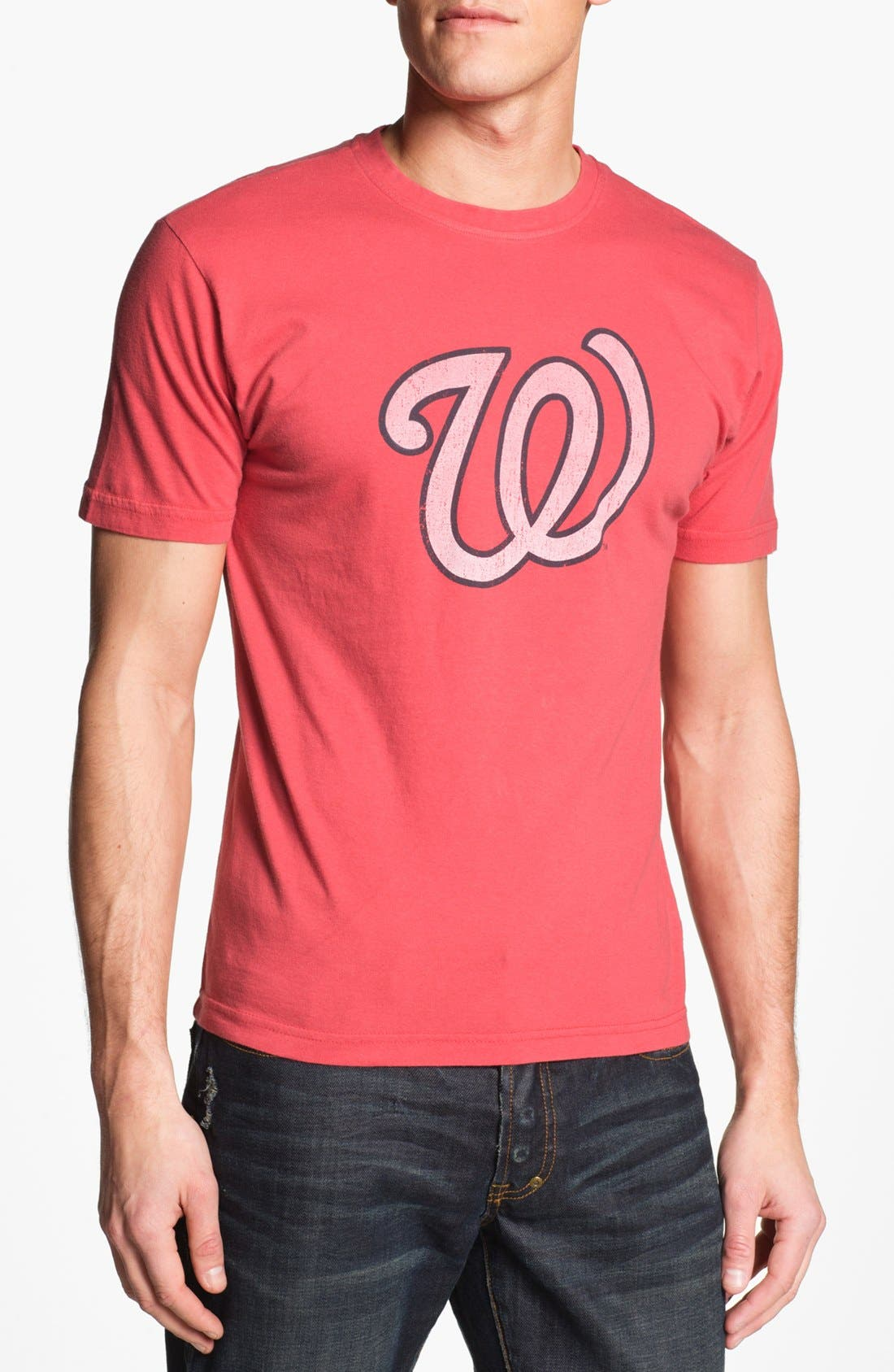 Alternate Image 1 Selected - Red Jacket 'Washington Nationals' Trim Fit T-Shirt (Men)