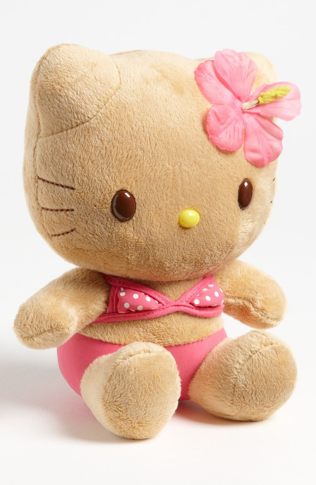 Main Image - Hello Kitty® 'Suntan Kitty' Stuffed Animal (8 inch)