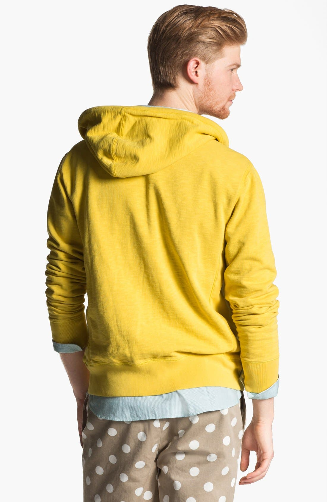 Alternate Image 2  - Jack Spade 'Cliff' Zip Hoodie
