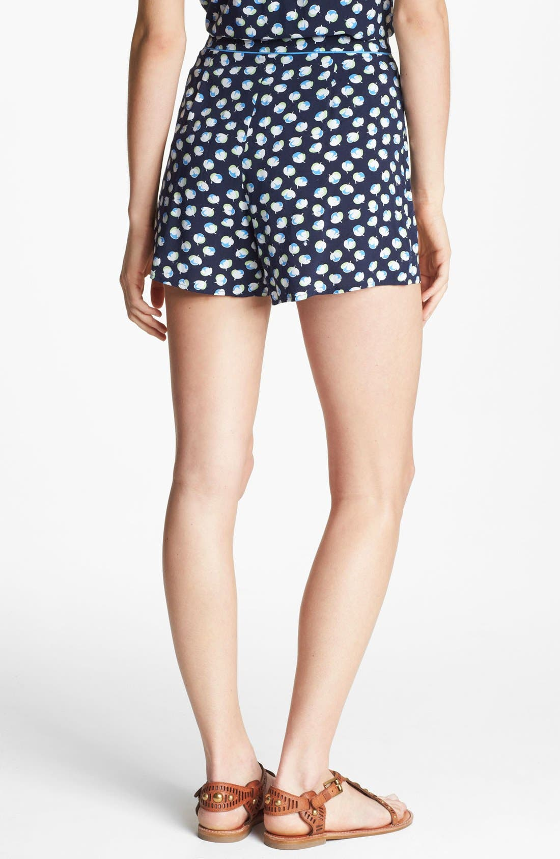 Alternate Image 2  - Two by Vince Camuto Floral Pleated Shorts