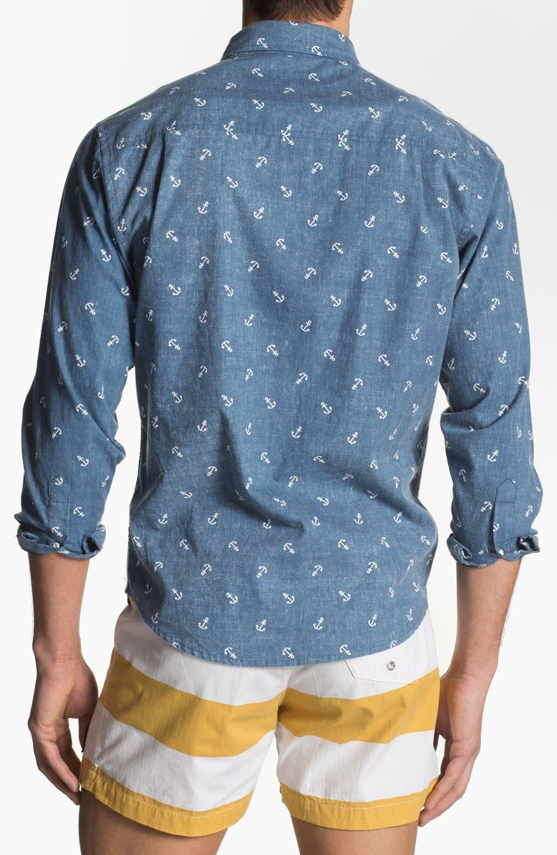 Alternate Image 3  - Altru 'Anchors' Print Woven Shirt