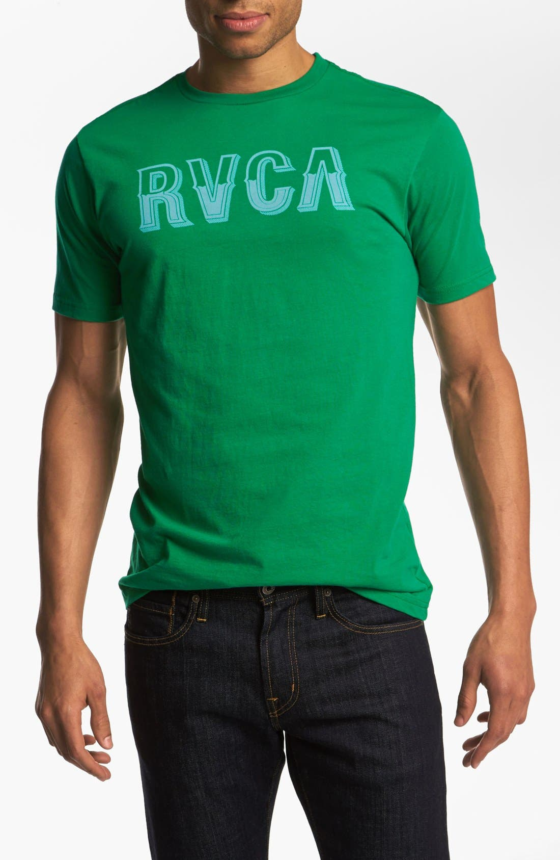 Alternate Image 1 Selected - RVCA 'Vintage' Graphic T-Shirt