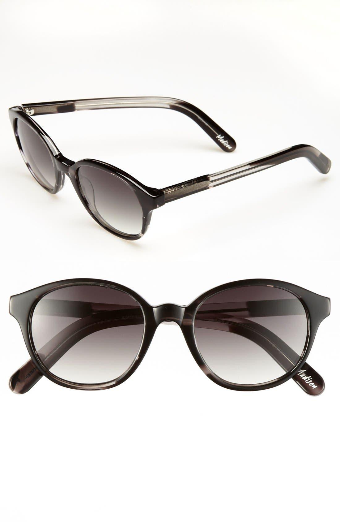 Alternate Image 1 Selected - Elizabeth and James 'Madison' 52mm Keyhole Sunglasses