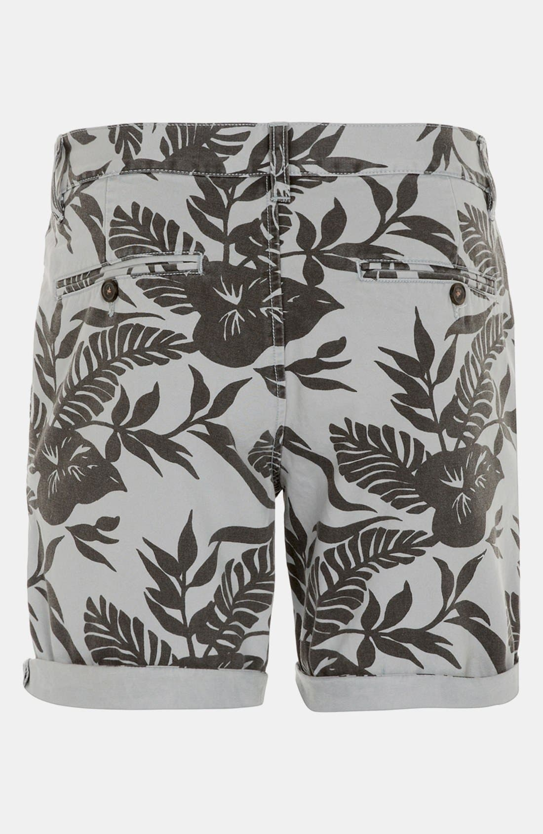 Alternate Image 2  - Topman 'Okavango' Print Shorts