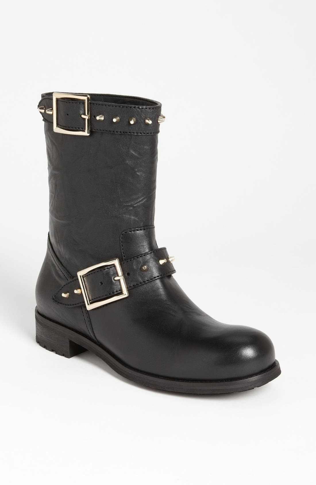 Alternate Image 1 Selected - Jimmy Choo 'Dash' Stud Biker Boot