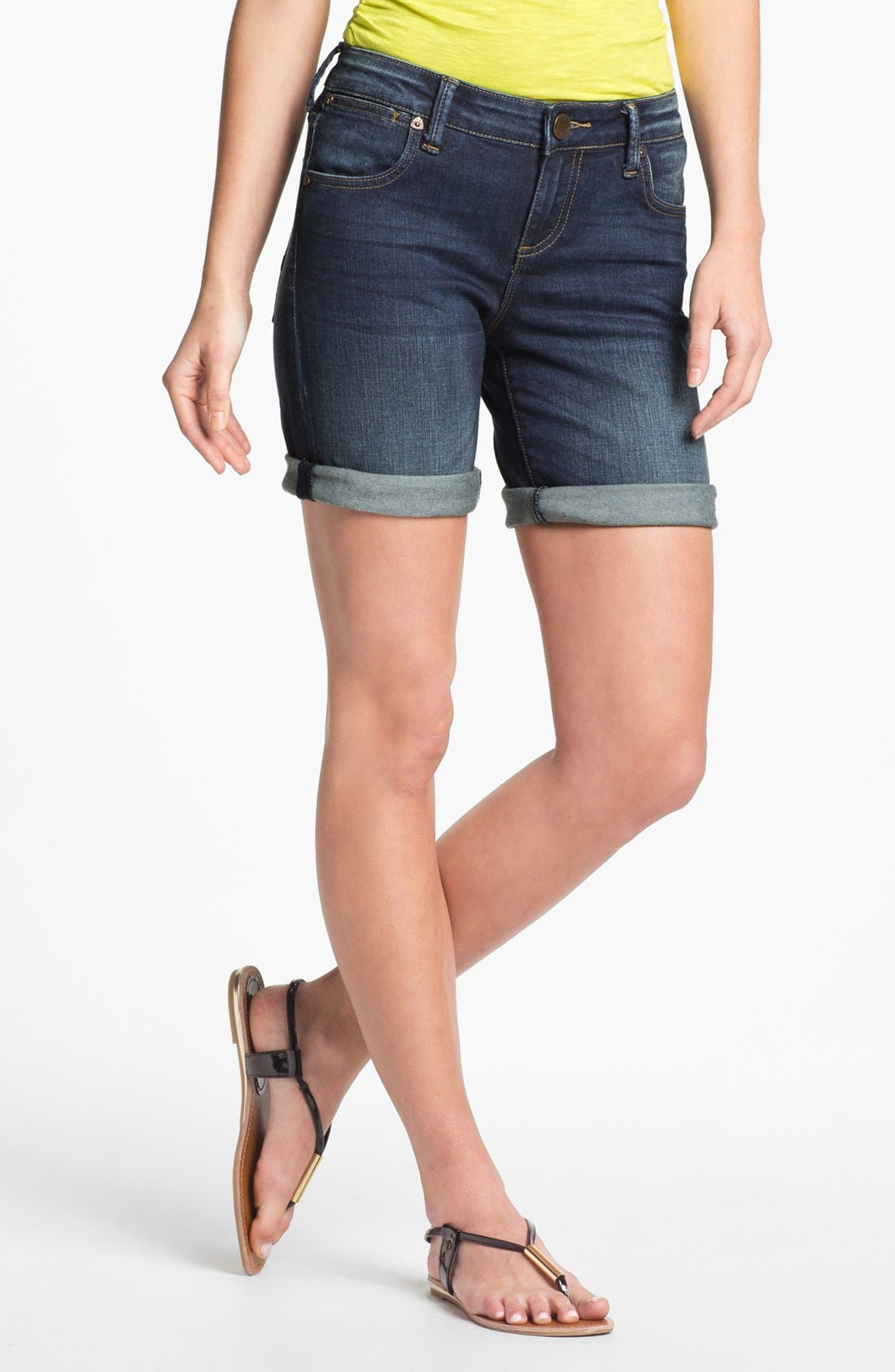 Alternate Image 1 Selected - KUT from the Kloth 'Catherine' Boyfriend Denim Shorts