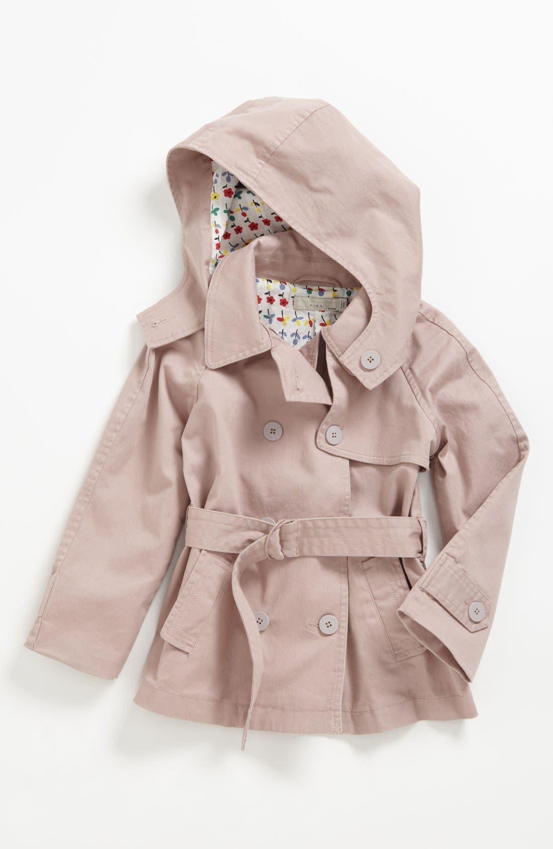 Alternate Image 1 Selected - Stella McCartney Kids 'Tilly' Trench Coat (Toddler, Little Girls & Big Girls)
