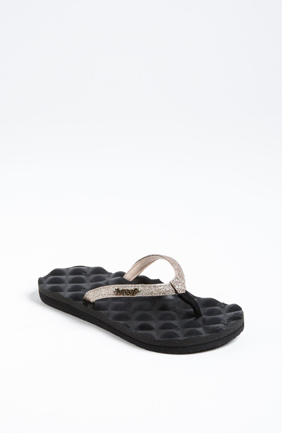 Main Image - Reef 'Little Reef Star Dreams' Sandal (Baby, Walker, Toddler, Little Kid & Big Kid)