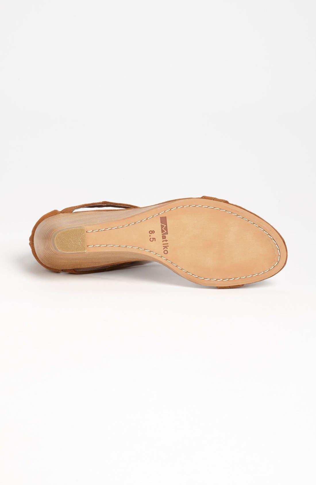 Alternate Image 4  - Matiko 'Laura' Wedge Sandal